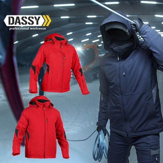 DASSY® Nordix Stretch-Winterjacke